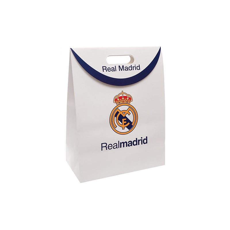 Real Madrid fehér ajándék táska