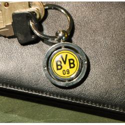Borussia Dortmund fém kulcstartó
