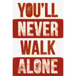 Liverpool FC YNWA poszter