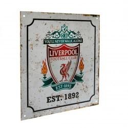 Liverpool FC retró szoba tábla