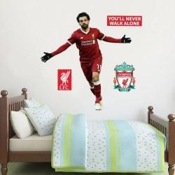 Liverpool FC Salah fali dekor