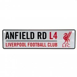 Liverpool Fc utcatábla