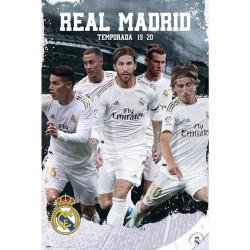 Real Madrid CF 2019-20 poszter