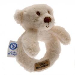 Chelsea FC plüss csörgő maci