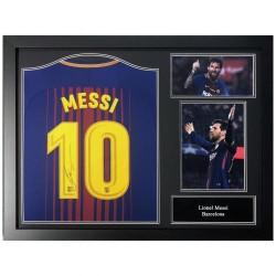 Lionel Messi dedikált mez...