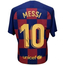 Lionel Messi dedikált...