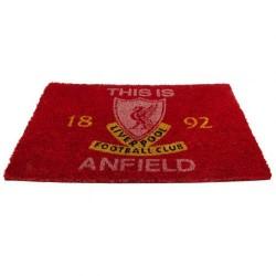 Liverpool FC vörös lábtörlő