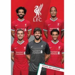 Liverpool FC fali naptár (A3)