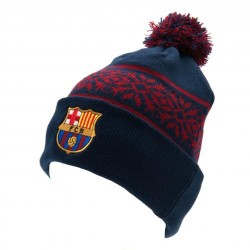 FC Barcelona kötött sísapka