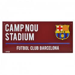 FC Barcelona utcatábla