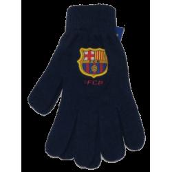 FC Barcelona téli kesztyű