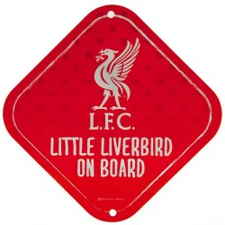 Liverpool FC Baby on the board autós tábla