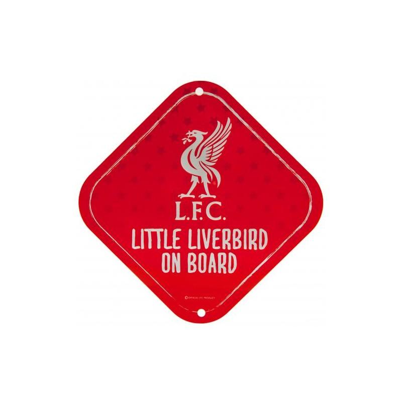 Liverpool FC Baby on the board autós tábla
