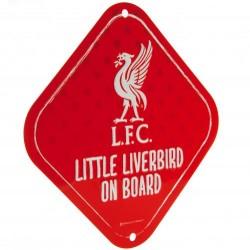 LFC bébi az autóban tábla