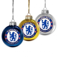 Chelsea FC karácsonyfa dísz