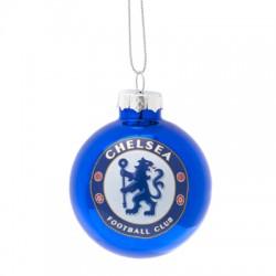 Chelsea FC karácsonyi dísz gömb