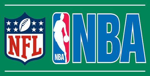 NFL és NBA csapatok termékei
